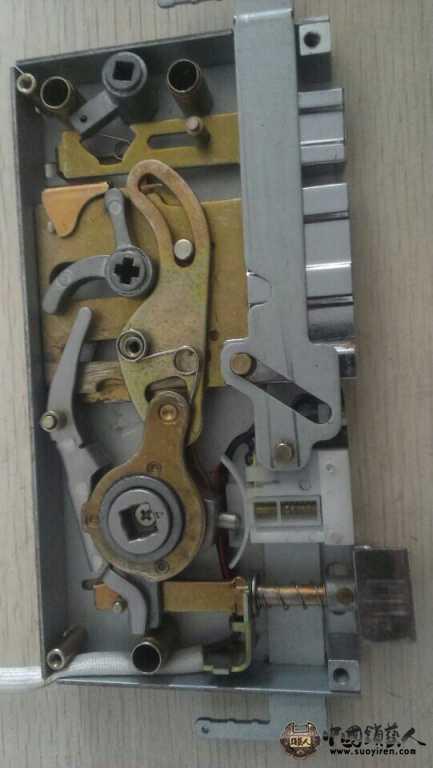 金点原子锁芯